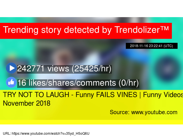 Image of: Vines Pranks Trendolizer Try Not To Laugh Funny Fails Vines Funny Videos November 2018