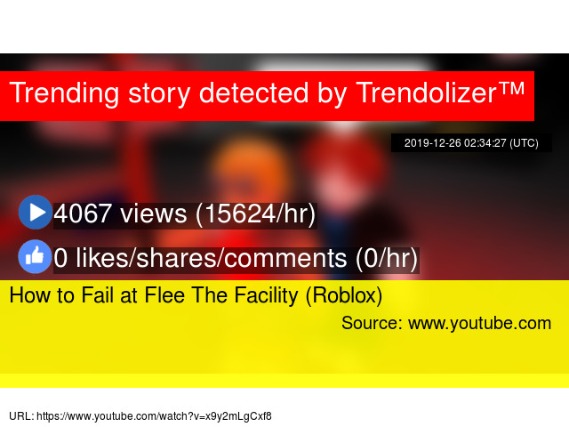 How To Fail At Flee The Facility Roblox