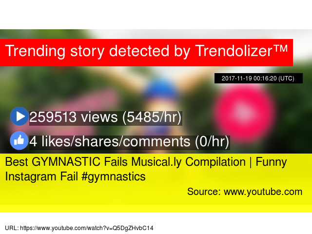 Best GYMNASTIC Fails Musical ly Compilation | Funny