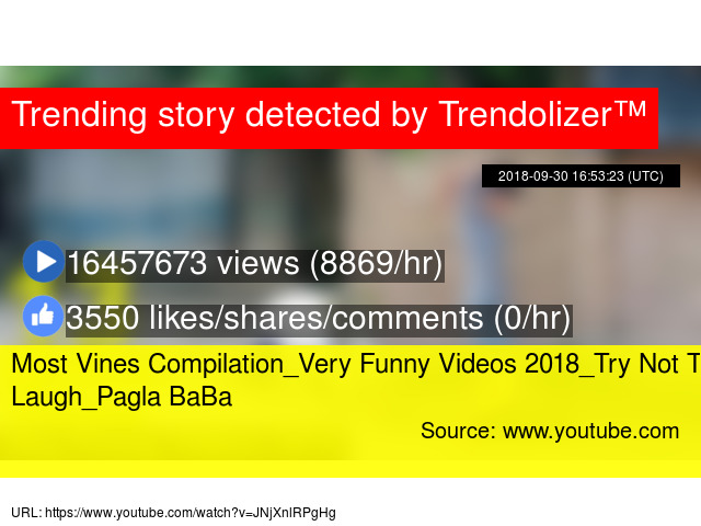 Image of: 2018try Most Vines Compilationvery Funny Videos 2018try Not To Laughpagla Baba Fail Trendolizer Most Vines Compilationvery Funny Videos 2018try Not To Laughpagla